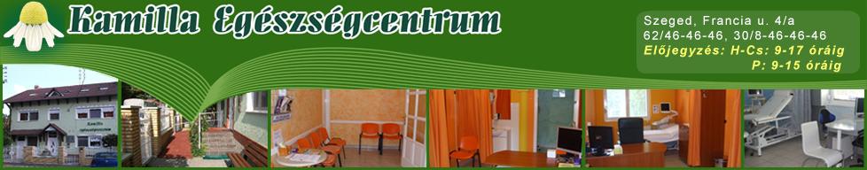 Kamilla Egészségcentrum - Szeged, Francia u. 4/a